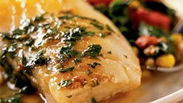 Herbed Sea Bass