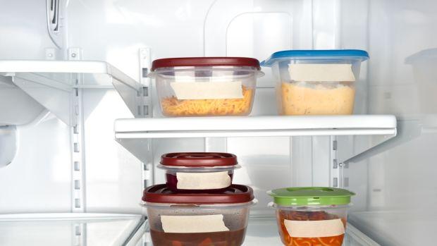 stocked fridge