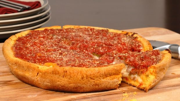 Gluten Free Chicago Deep Dish Pizza