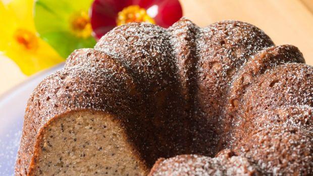almond poppy seed bundt cake