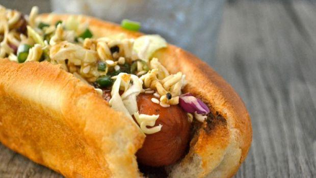 Hot Dog and Slaw Topper