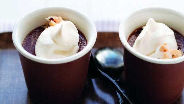 Chocolate Hazelnut Pots de Creme