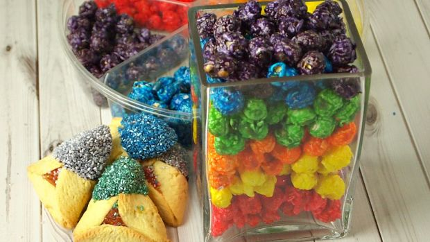 make your own color themed basket