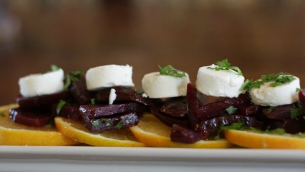 beet and orange salad