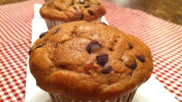 Peanut Butter Chocolate-Chip Muffins
