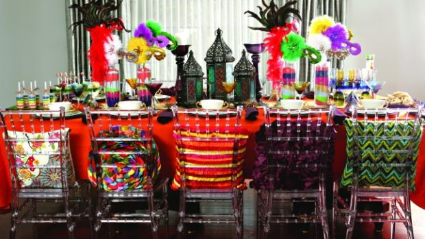 Purim Table