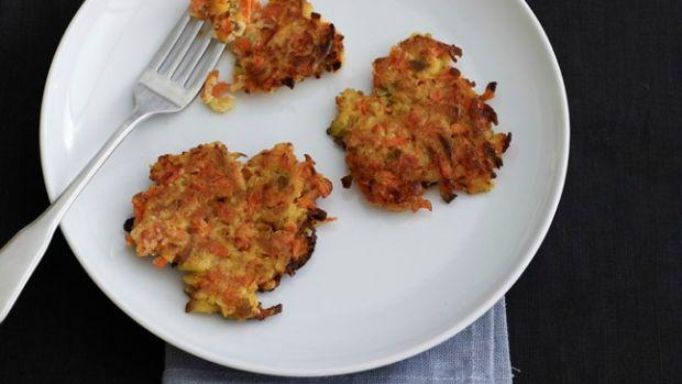 Cauliflower Carrot Latkes