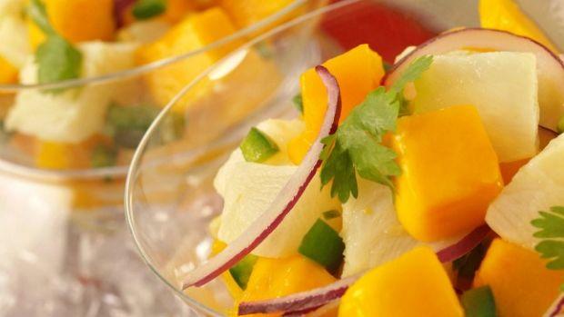 Tilapia Ceviche with Mango