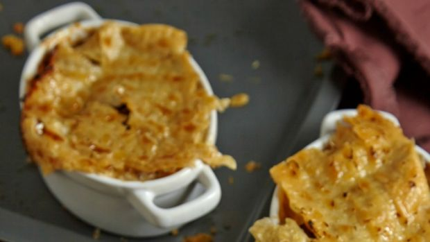 matzo mushroom pot pie