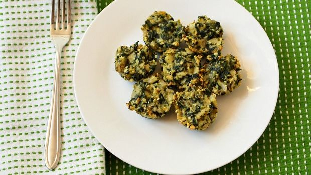 spinach and artichoke mini kugels