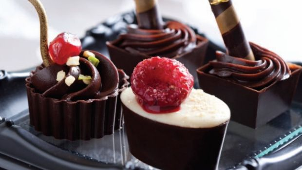 chocolate cups