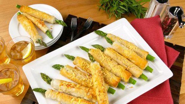 Crispy California Asparagus Straws
