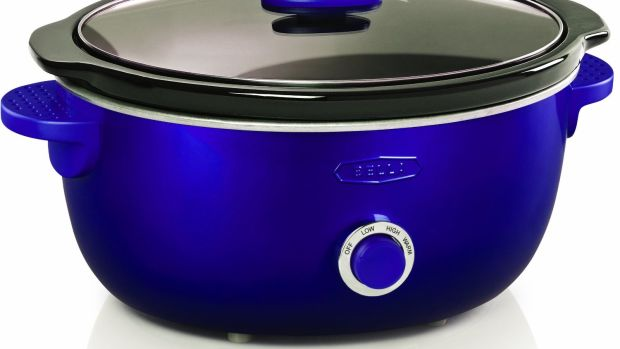 colorful slow cooker