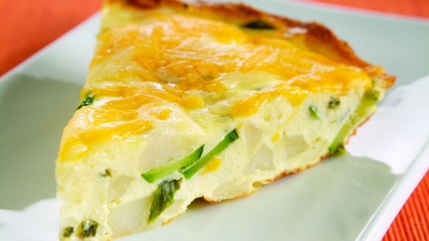 herbed frittata for passover