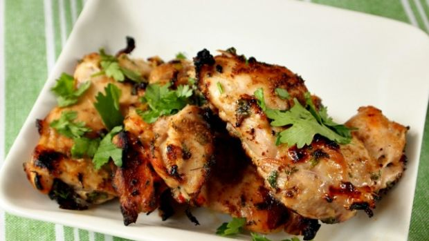 grilled cilantro chicken with lime