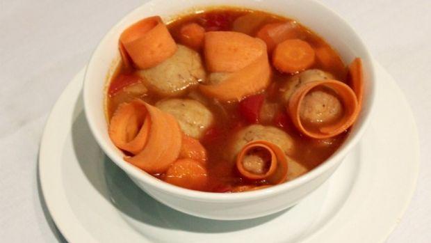 Mod Matzo Ball Soup