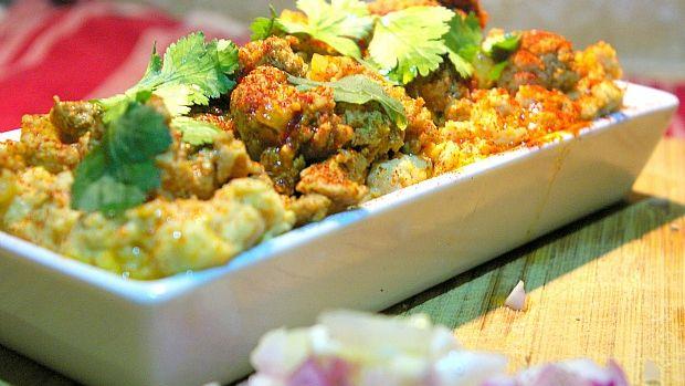 chicken hummus