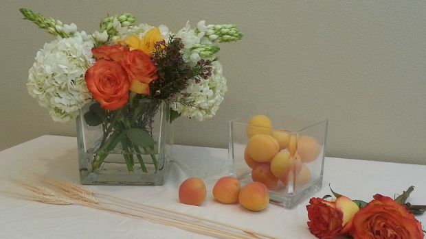 Shavuot Flower Centerpiece with step by step DIY instructions