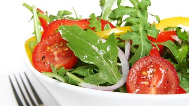 salad with honey lime vinaigrette