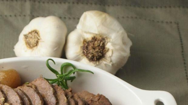 roasted garlic brisket