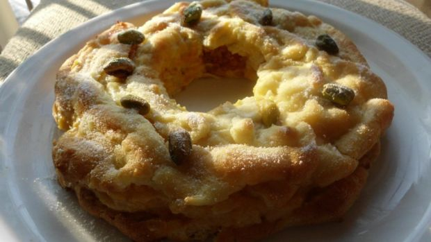 Pumpkin Cream Puff Cake