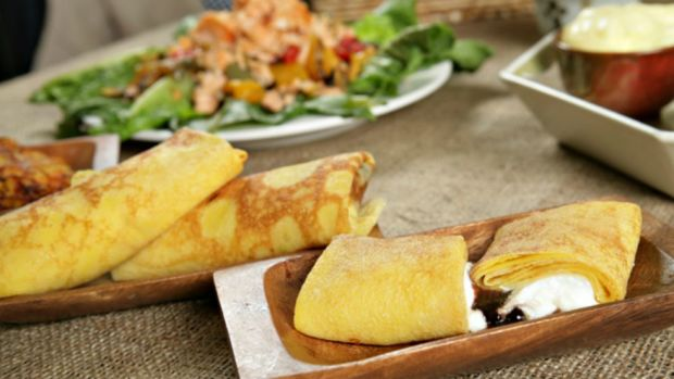 cheese Blintzes for Passover