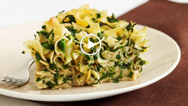 Spinach Noodle Kugel Video