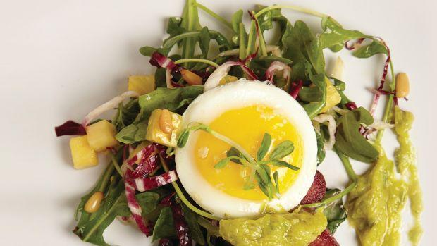 Warm Kale Tongue Salad Page 54