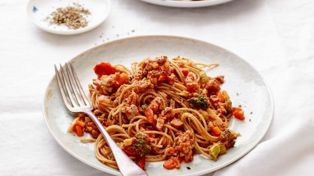 Healthy Spaghetti Bolognaise