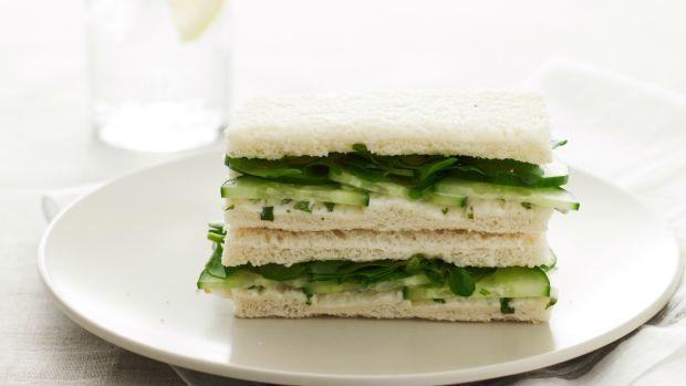 non dairy cucumber tea sandwiches