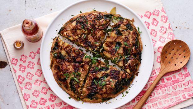 Spinach Tortilla Espagnole