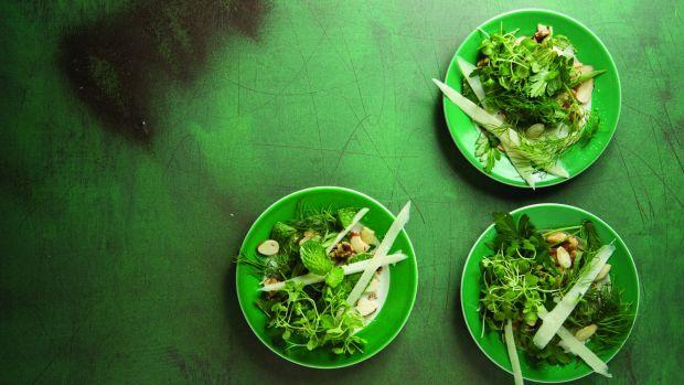 Herb and Nut Salad horizontal
