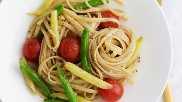 Grilled Vegetable Linguine