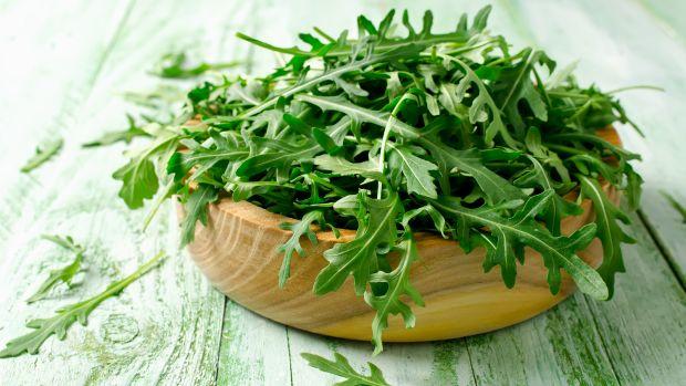 Arugula Salad with Lemon Honey Vinaigrette