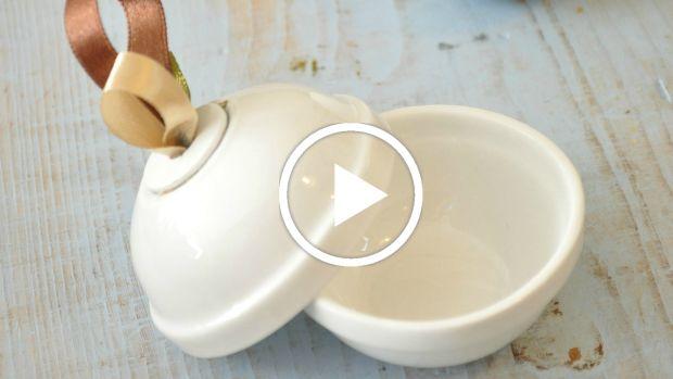 DIY Crafting: Individual Honey Pots
