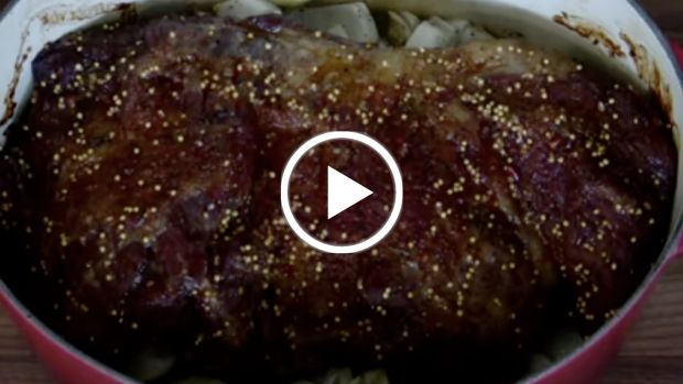 how to oven sear