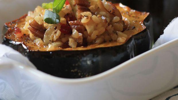 Chai Roasted Acorn Squash