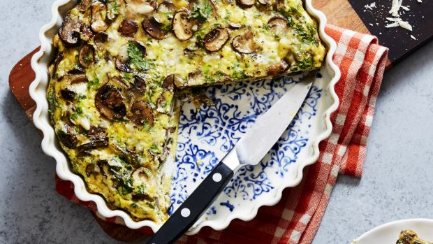 Mushroom Sage Omelet 1