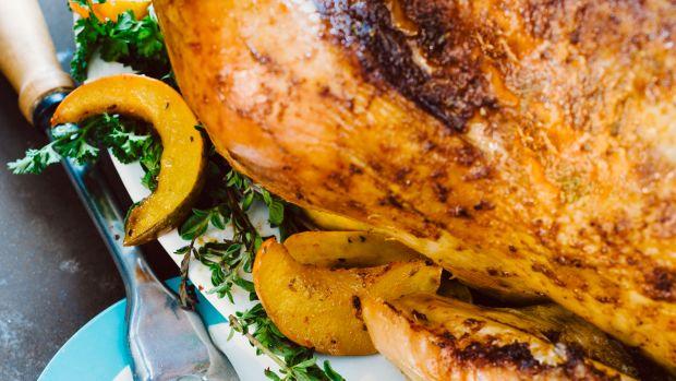Sweet Chili Rubbed Roast Turkey