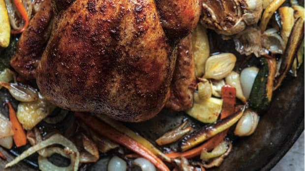 Red Roasted Whole Chicken