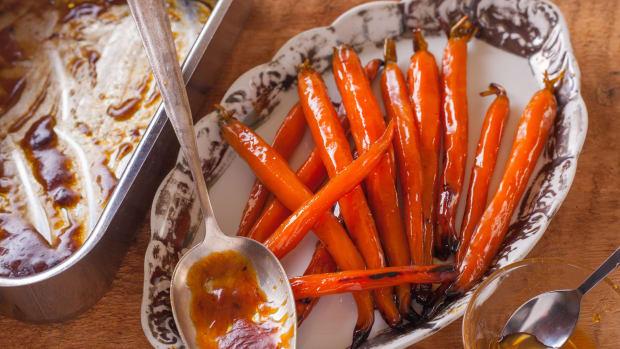 Maple Ginger Carrots