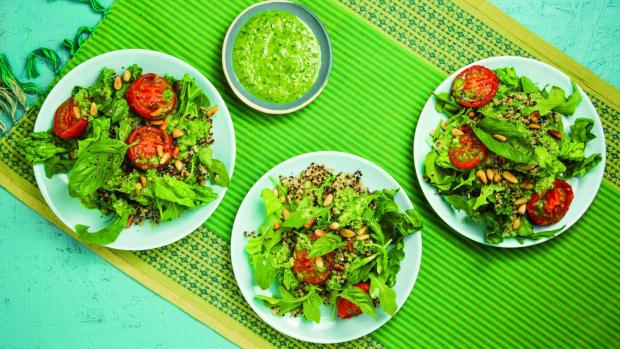 Slow-Roasted Tomato Salad horizontal