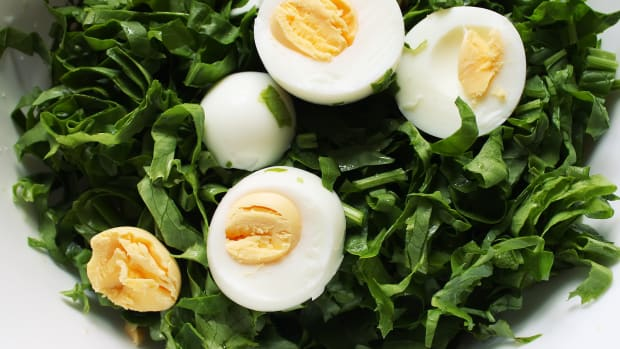 Spinach Salad with Eggs and Beef Bacon.jpg