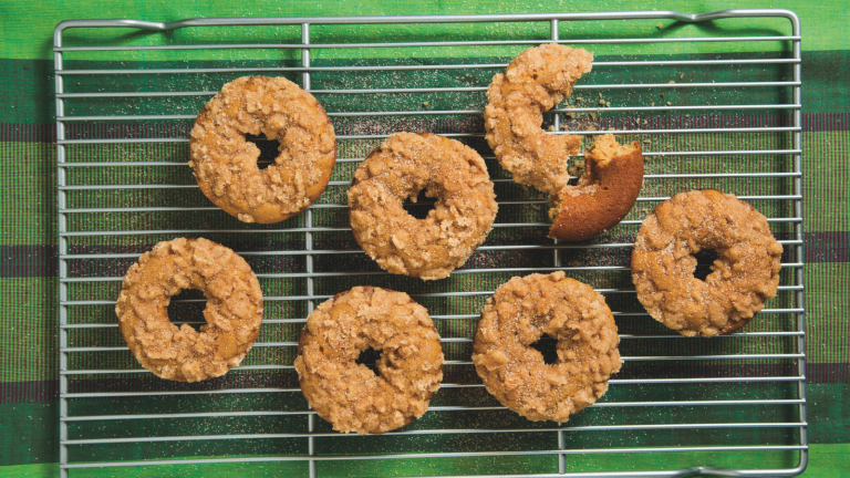 Healthier Doughnuts for Hanukkah