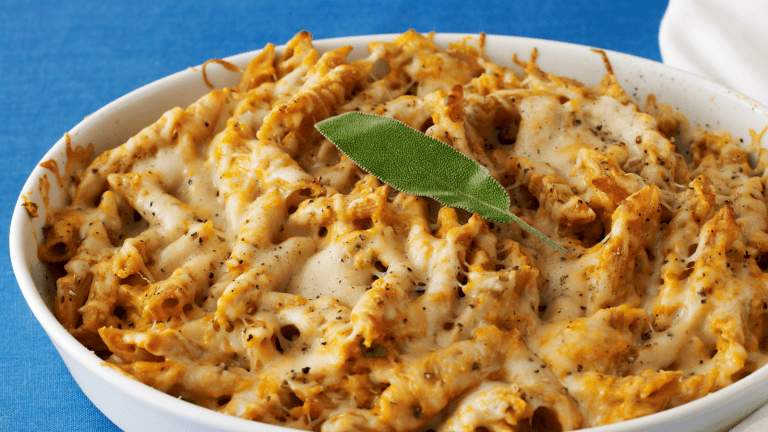 Pumpkin Baked Penne Plus More Savory Pumpkin Recipes