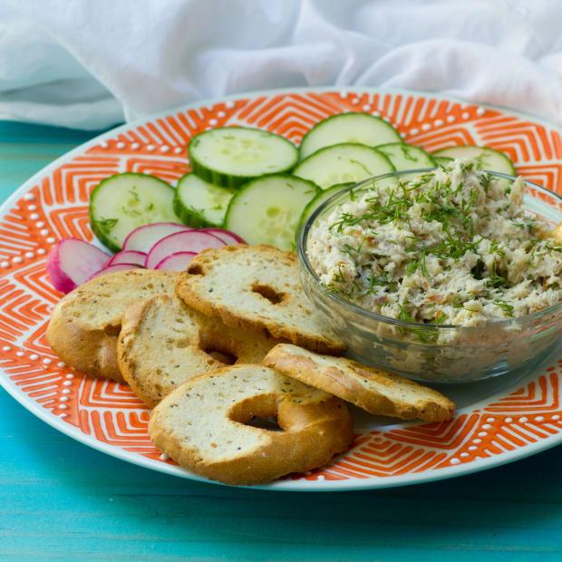 White Fish Salad with Horseradish