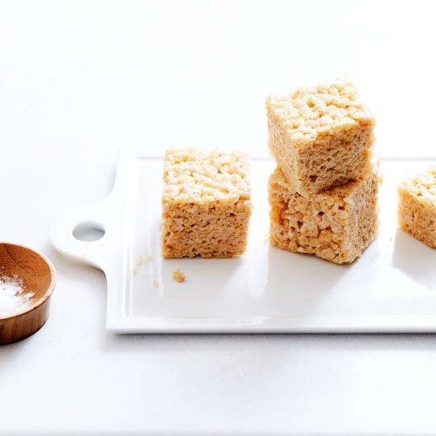 Brown Butter Maple Rice Krispies® Treats
