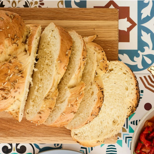 Multi-seeded Fennel Flavored Challah