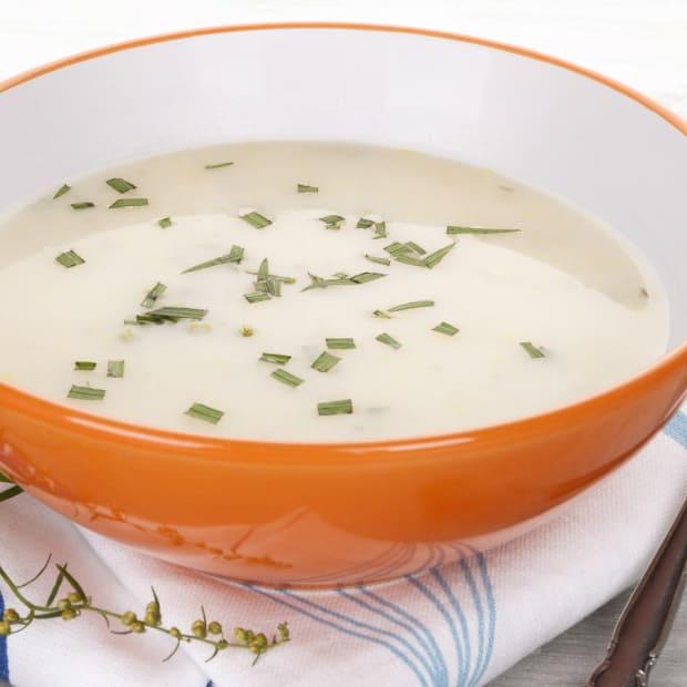 Leek, Potato and Tarragon Soup