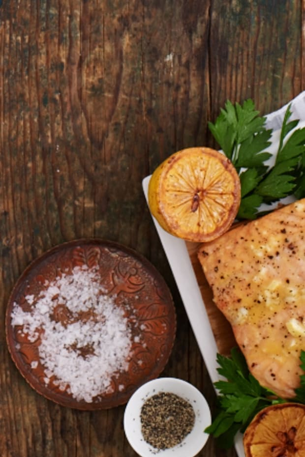 Honey Baked Salmon